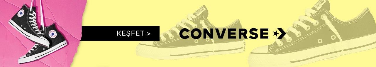 Sokaklar seninle güzelleşecek Converse