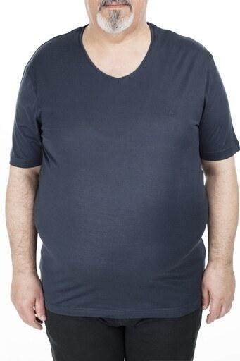 Abbate Büyük Beden Erkek T Shirt 5913040 KOYU GRİ