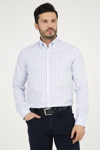 ABBATE Erkek Uzun Kollu Gömlek 1GM72UK0748S 554 AÇIK MAVİ