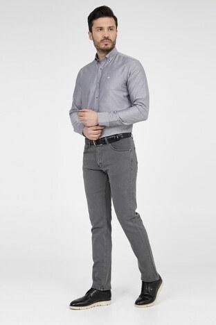 ABBATE Erkek Uzun Kollu Gömlek 1GM82UK0892S 501 SİYAH