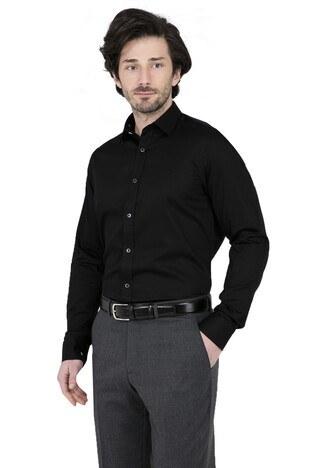ABBATE Erkek Uzun Kollu Gömlek 1GM91UK0026S 500 SİYAH