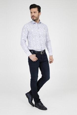 ABBATE Erkek Uzun Kollu Gömlek 1GM91UK0113S 900 BEYAZ