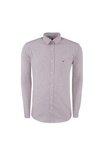 ABBATE Erkek Uzun Kollu Gömlek 1GM91UK1213R600 KIRMIZI