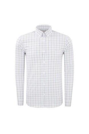 Abbate - ABBATE Erkek Uzun Kollu Gömlek 1GM91UK12145554 AÇIK MAVİ