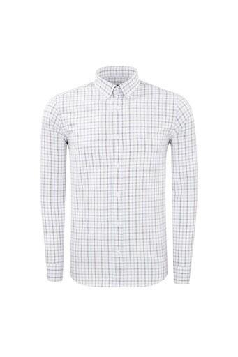 ABBATE Erkek Uzun Kollu Gömlek 1GM91UK12145554 AÇIK MAVİ