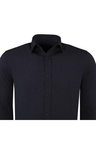 ABBATE Erkek Uzun Kollu Gömlek 1GM91UK1218S506 LACİVERT