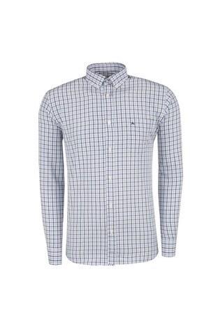 ABBATE Erkek Uzun Kollu Gömlek 1GM91UK1220R551 MAVİ