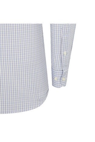 ABBATE Erkek Uzun Kollu Gömlek 1GM91UK1220R553 MAVİ