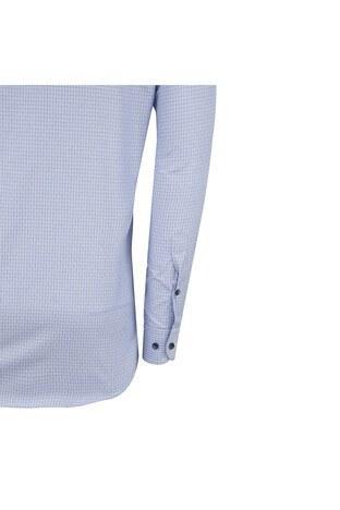 ABBATE Erkek Uzun Kollu Gömlek 1GM91UK1220R560 MAVİ