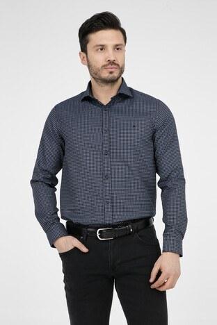 ABBATE Erkek Uzun Kollu Gömlek 1GM91UK1231S 509 KOYU LACIVERT