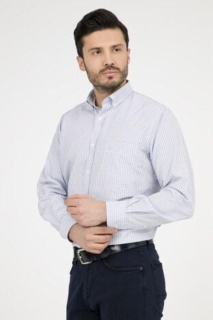 ABBATE Erkek Uzun Kollu Gömlek 1GM91UK1234R 554 AÇIK MAVİ