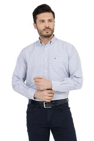 ABBATE Erkek Uzun Kollu Gömlek 1GM91UK1234R 580 KOYU MAVİ
