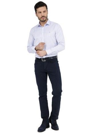 ABBATE Erkek Uzun Kollu Gömlek 1GM91UK1236S V11 AÇIK MAVİ