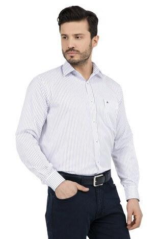 ABBATE Erkek Uzun Kollu Gömlek 1GM91UK1237R 506 LACİVERT