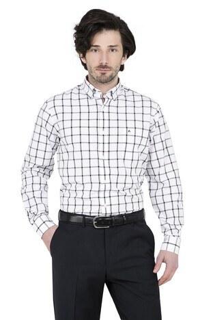 Abbate - ABBATE Erkek Uzun Kollu Gömlek 1GM91UK1238R 500 SİYAH