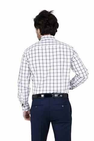 ABBATE Erkek Uzun Kollu Gömlek 1GM91UK1238R 506 LACİVERT