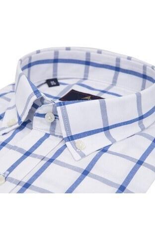ABBATE Erkek Uzun Kollu Gömlek 1GM91UK1238R551 MAVİ