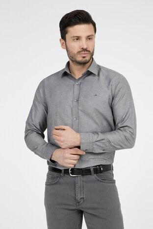 ABBATE Erkek Uzun Kollu Gömlek 1GM91UK1241S 500 SİYAH