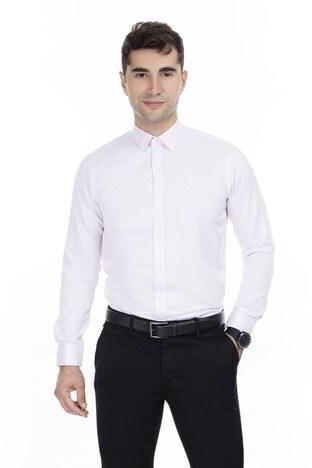 Abbate Erkek Uzun Kollu Gömlek 1GM91UK1241S650 PEMBE