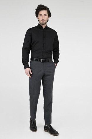 ABBATE Erkek Uzun Kollu Gömlek 1GM91UK1244R 500 SİYAH
