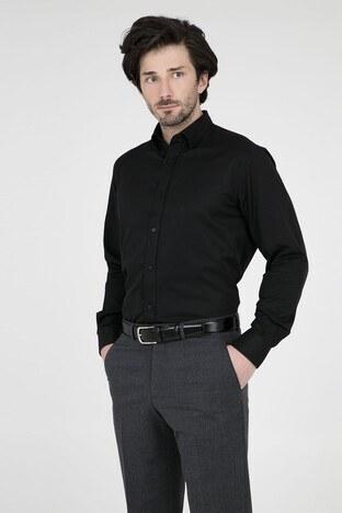 ABBATE Erkek Uzun Kollu Gömlek 1GM91UK1244R 505 SİYAH