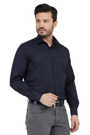 ABBATE Erkek Uzun Kollu Gömlek 1GM91UK1244R 509 KOYU LACIVERT
