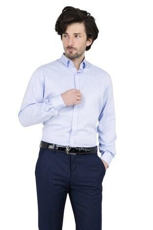 ABBATE Erkek Uzun Kollu Gömlek 1GM91UK1244R 555 AÇIK MAVİ