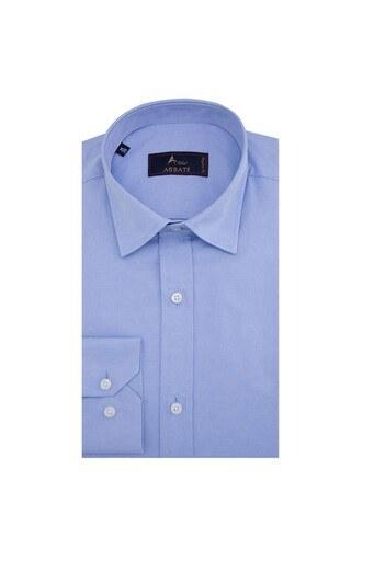 ABBATE Erkek Uzun Kollu Gömlek 1GM91UK1244R 563 AÇIK MAVİ