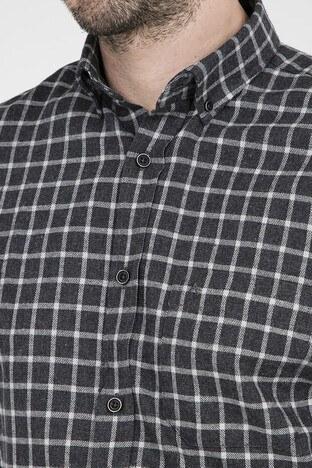 ABBATE Erkek Uzun Kollu Gömlek 1GM91UK1247R 510 SİYAH