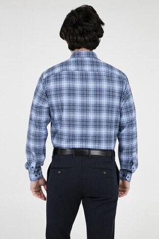 ABBATE Erkek Uzun Kollu Gömlek 1GM91UK1251R 560 MAVİ