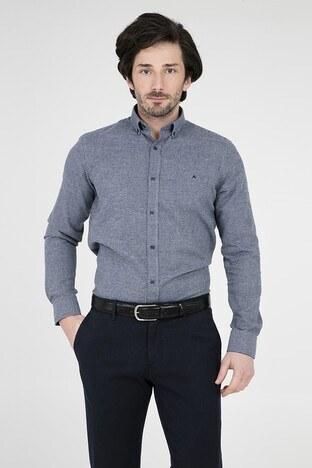 ABBATE Erkek Uzun Kollu Gömlek 1GM91UK1253S 503 GRİ