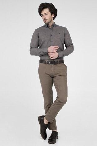 ABBATE Erkek Uzun Kollu Gömlek 1GM91UK1253S 860 BEJ
