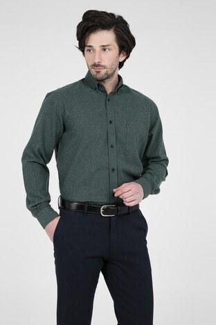 ABBATE Erkek Uzun Kollu Gömlek 1GM91UK1256R 800 YEŞİL