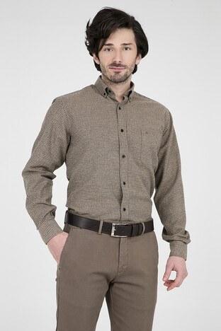 ABBATE Erkek Uzun Kollu Gömlek 1GM91UK1256R 860 BEJ