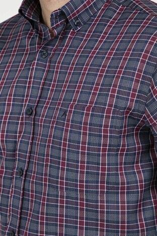 ABBATE Erkek Uzun Kollu Gömlek 1GM91UK1257R 610 KIRMIZI