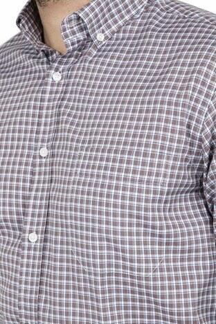 ABBATE Erkek Uzun Kollu Gömlek 1GM91UK1261R 750 KAHVE