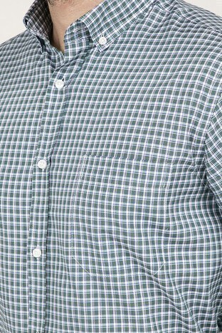 ABBATE Erkek Uzun Kollu Gömlek 1GM91UK1261R 800 YEŞİL