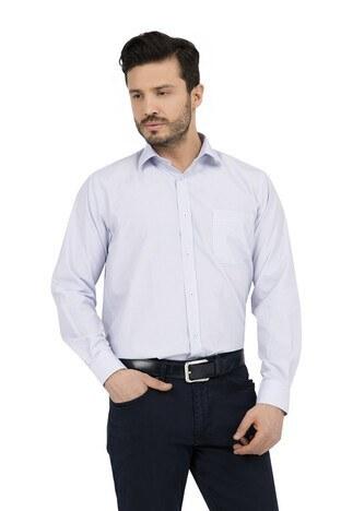ABBATE Erkek Uzun Kollu Gömlek 1GM91UK1264R 570 ORTA-MAVİ