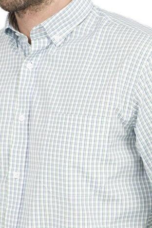 Abbate Erkek Uzun Kollu Gömlek 1GM91UK1267R 820 YEŞİL