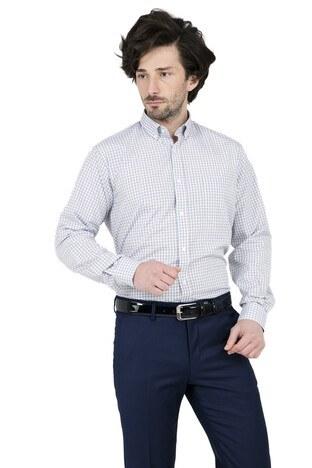 Abbate - ABBATE Erkek Uzun Kollu Gömlek 1GM91UK1267R 890 CAMEL