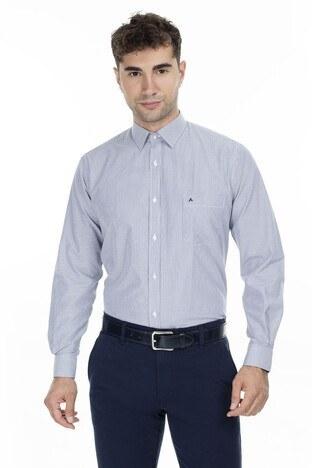 Abbate Erkek Uzun Kollu Gömlek 1GM92UK1268R512 LACİVERT