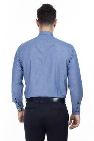 Abbate Erkek Uzun Kollu Gömlek 1GM92UK1281R521 AÇIK LACİVERT
