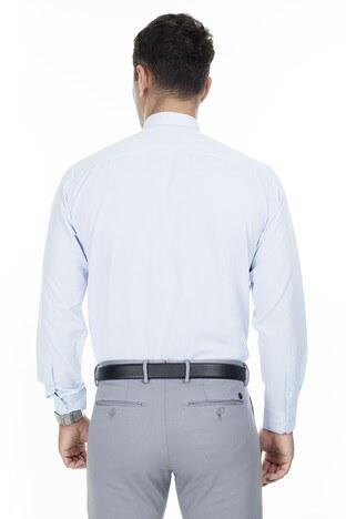 Abbate Erkek Uzun Kollu Gömlek 1GM92UK1282R540 BUZ MAVİ