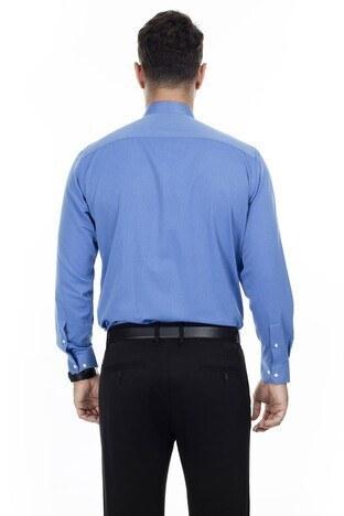 Abbate Erkek Uzun Kollu Gömlek 1GM92UK1282R580 KOYU MAVİ