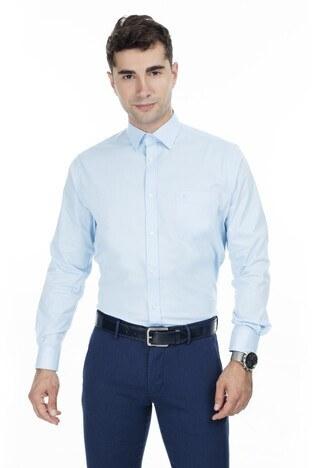Abbate Erkek Uzun Kollu Gömlek 1GM92UK1291R564 AÇIK MAVİ