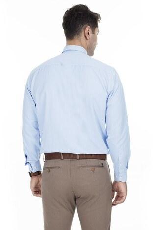 Abbate Erkek Uzun Kollu Gömlek 1GM92UK1295R580 KOYU MAVİ