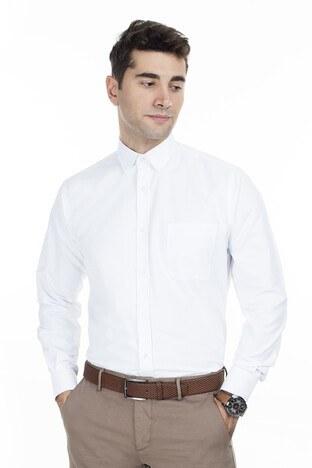 Abbate Erkek Uzun Kollu Gömlek 1GM92UK1295R901 BEYAZ