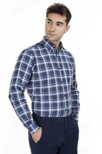 Abbate Erkek Uzun Kollu Gömlek 1GM92UK1297R475 PETROL