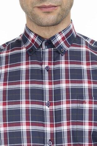 Abbate Erkek Uzun Kollu Gömlek 1GM92UK1297R506 LACİVERT