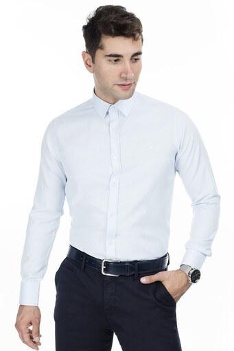 Abbate Erkek Uzun Kollu Gömlek 1GM92UK1298S554 AÇIK MAVİ